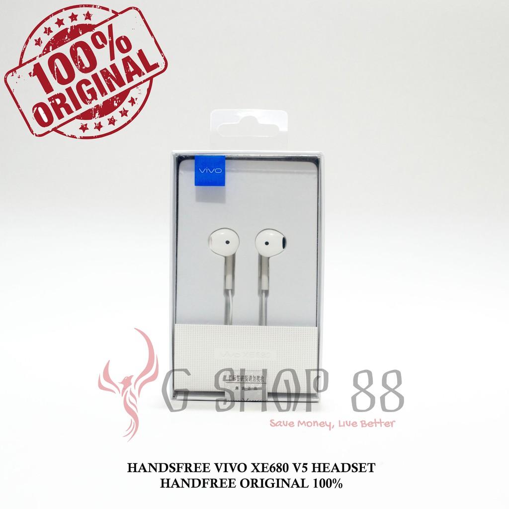 Handsfree Iphone 4 S 5 6 Plus Hf Headset Earphone Ori Oem Original Vivo Shopee Indonesia