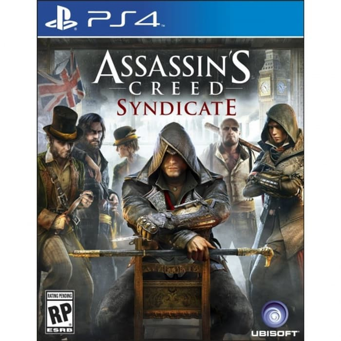 Game Ps4 Assassins Creed Syndicate Shopee Indonesia