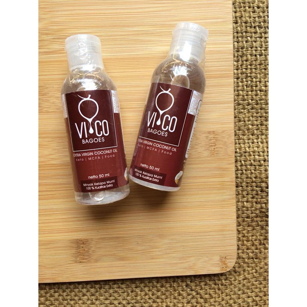 Vico Bagoes Vco Virgin Coconut Oil Minyak Kelapa 1 Liter 1000ml Shopee Indonesia