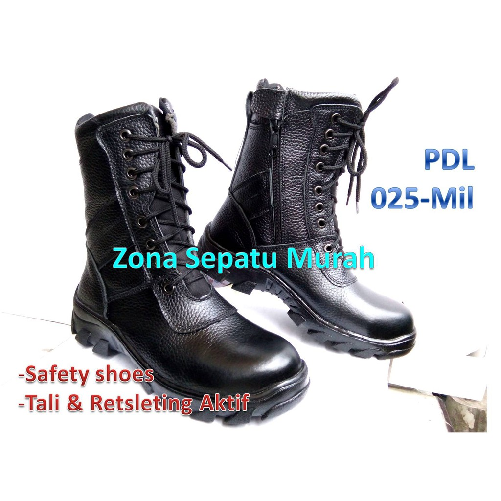 Sepatu Pdl Seri Pdlg Provost Tni Standar New Model Best Pkd Atau Provos Jahit Quality Shopee Indonesia