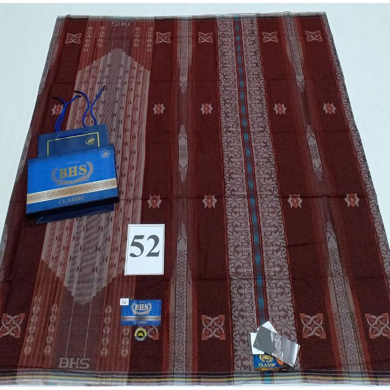 COD SARUNG BHS CLASSIC JACQUARD SONGKET GOLD