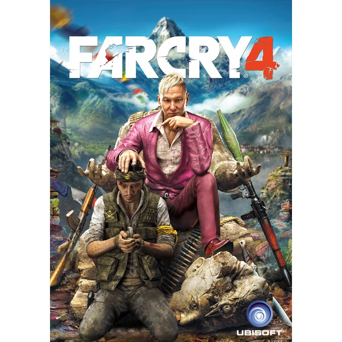 Far Cry 4 Gold Edition Pc Games Dvd Cd Games Kaset Game Komputer Laptop Shopee Indonesia