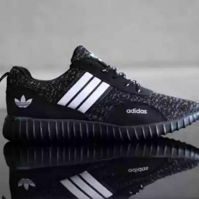 Sepatu Adidas Alphabounce Alpha Bounce Boost Full Brown Gum Tan Krem Khaki   023704b948