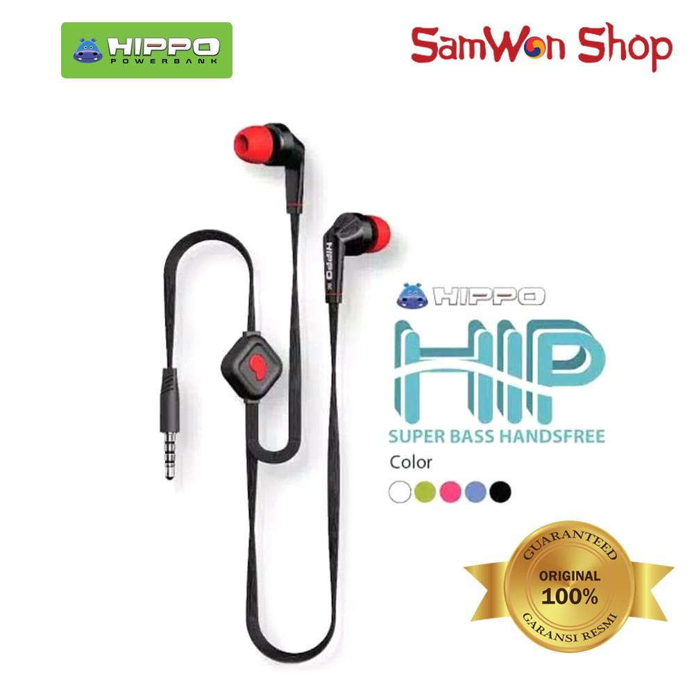 HIPPO HANDSFREE EARPHONE HEADSET HF HIP SUPER BAS HANDSFREE