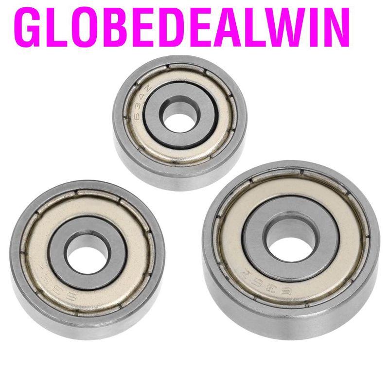 10pcs 693ZZ Miniature Ball Bearings 3*8*4mm Small Double Shielded Bearing vb