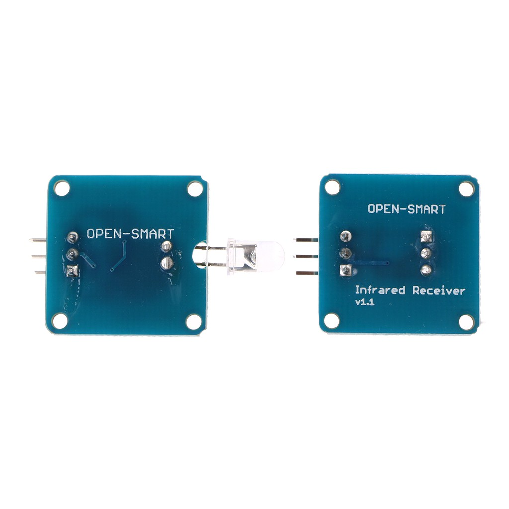Utakene555 Modul Transmitter Receiver Infrared IR + IR Receiver ...