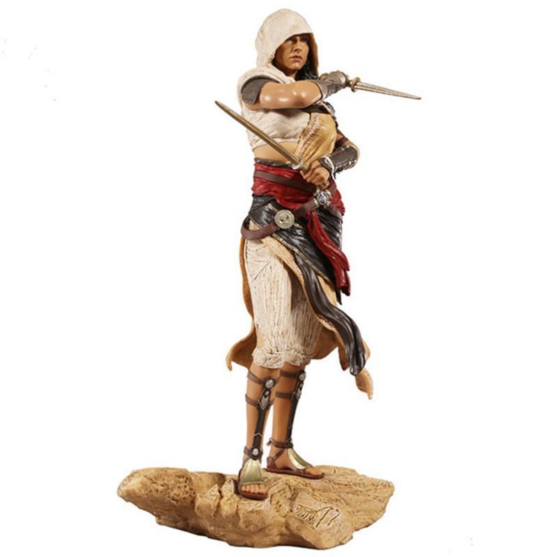 Patung Figur Assassin S Creed Bayek S Wife Aya Untuk Dekorasi