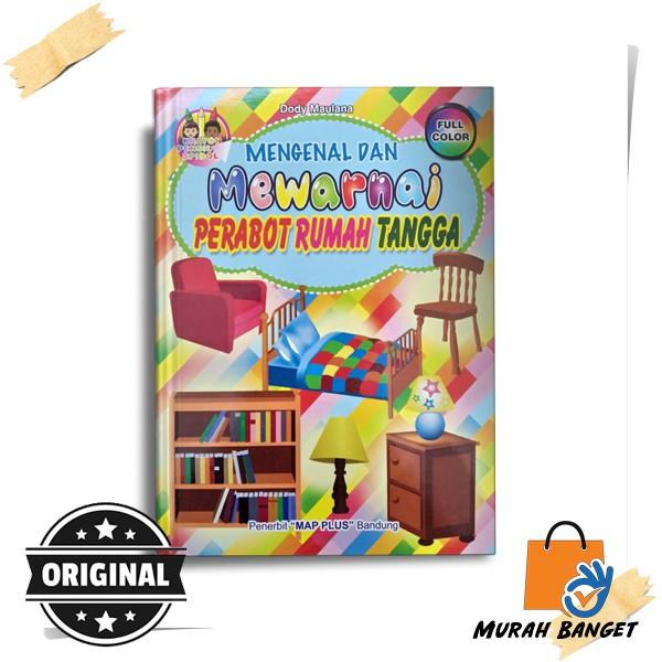 Buku Mewarnai Anak Tk Paud Mengenal Mewarnai Perabot Rumah Tangga Shopee Indonesia