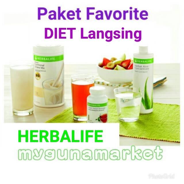 Paket Favorite Paket Herbalif Murah Meriah 1 Herbalife Shake 1