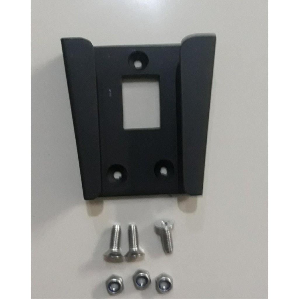 Brompton front carrier block bracket adaptor with mounting nuts