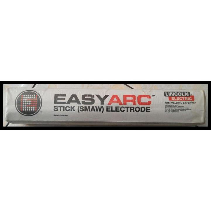 Kawat Las Lincoln Electric Easyarc 6013 Dia 2 5 Mm Shopee Indonesia