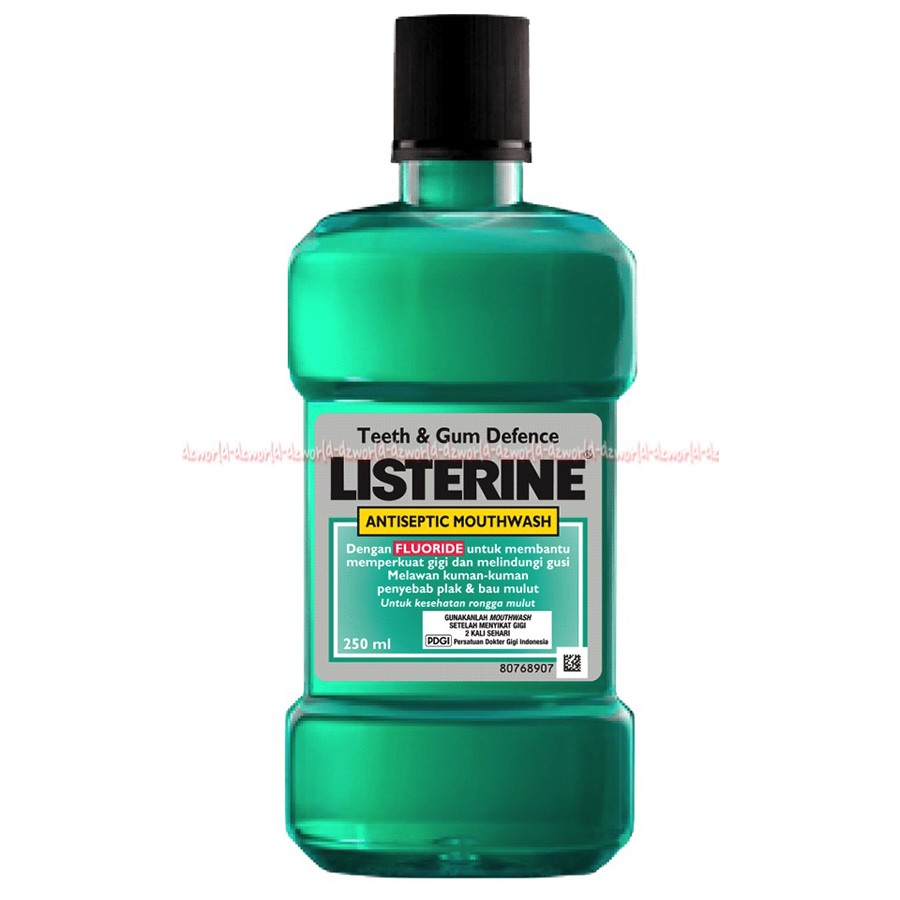 Listerine Original Antioseptic obat kumur-kumur Liserin kuning 500ml ... b3cfc87b1e