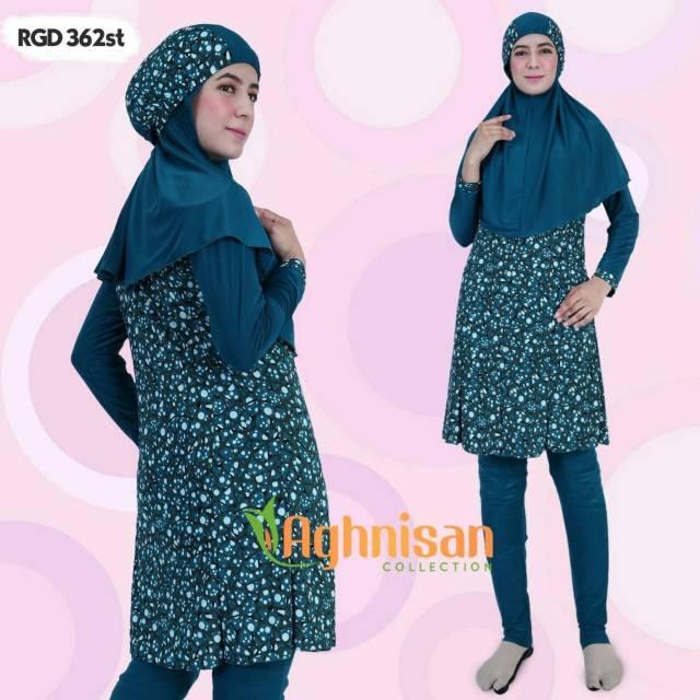 Baju Renang Perempuan Muslimah Aghnisan ...