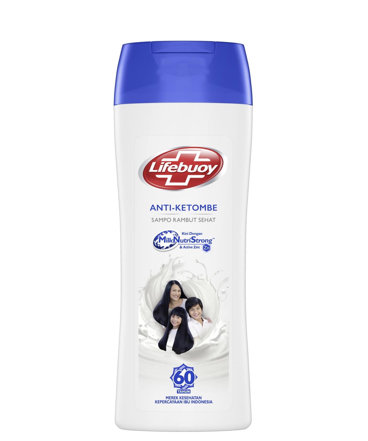 Lifebuoy Shampoo Anti Dandruff 170ml Twin Pack-1