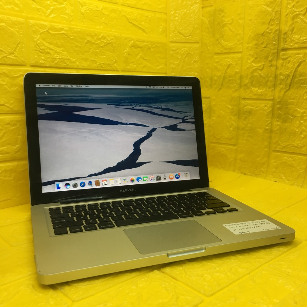 Laptop apple second Macbook Pro 1inch Early 1 Core i1 1.1Ghz Ram 1Gb  Hdd 110Gb