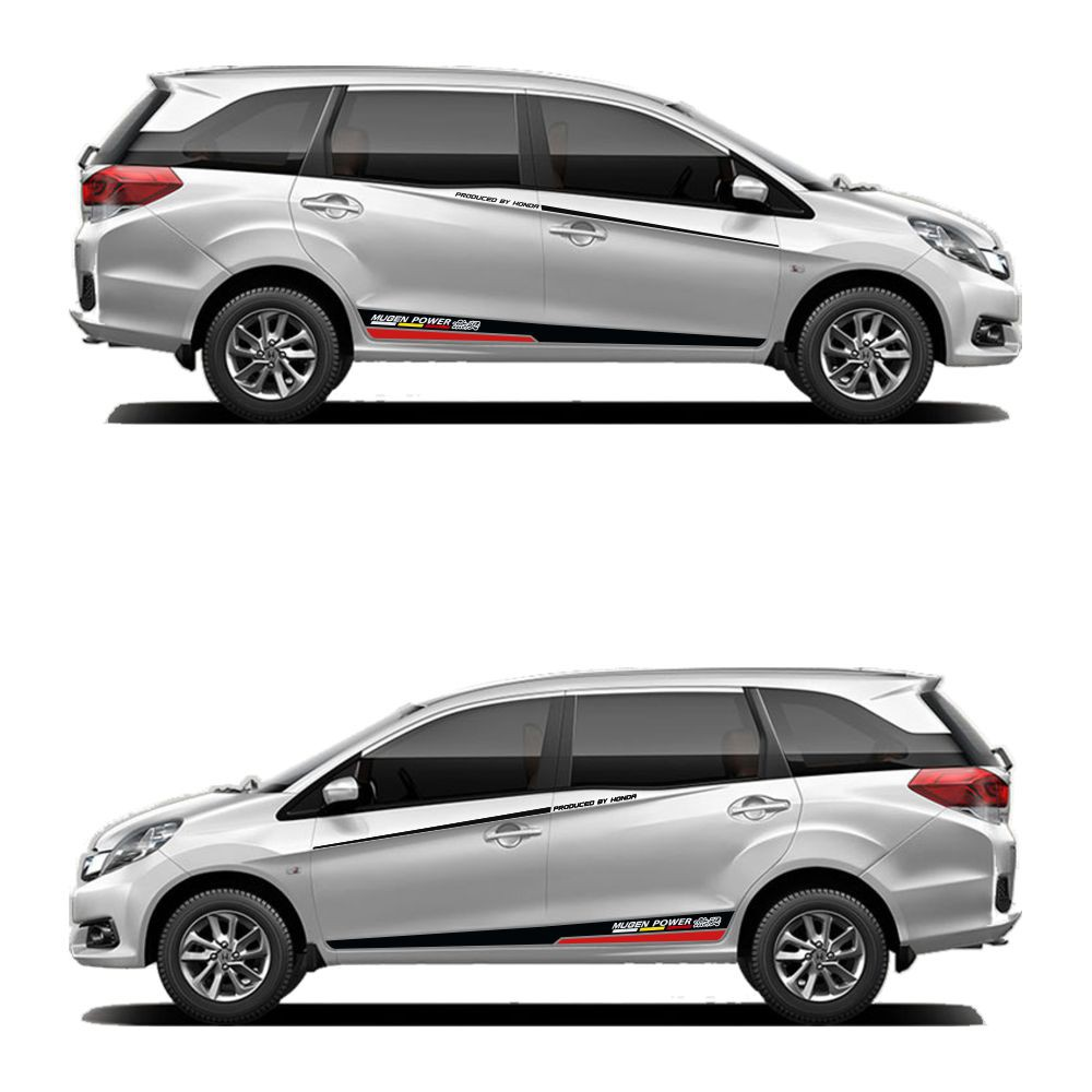 Stiker Mobil Sticker Body Stripe Honda Mobilio 004 Shopee Indonesia