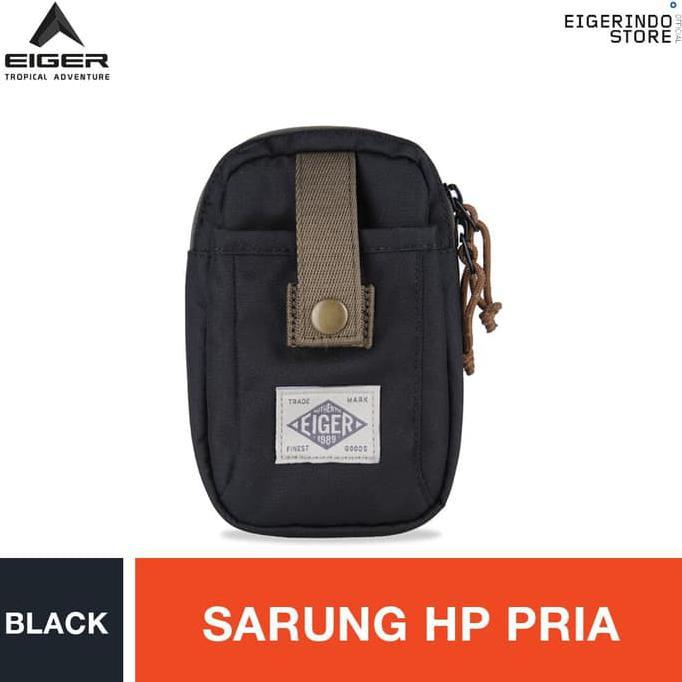 Tas Selempang Pinggang Kalibre 928019 999 Black Smartphone Case