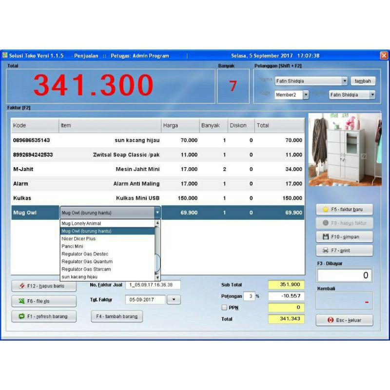 Aplikasi Program Kasir  - Aplikasi POS - Retail Untuk PC Solusi Toko &Supermarket