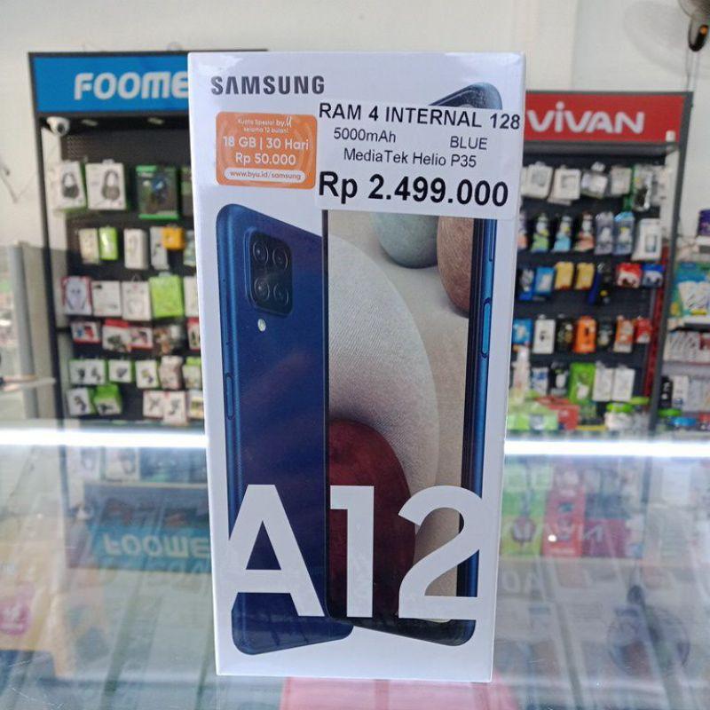HP Samsung A12 4/128 Biru