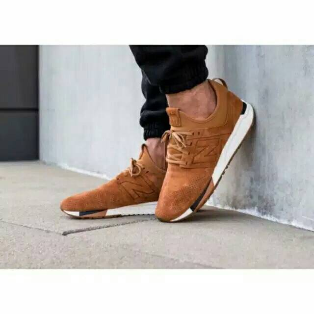 NEW BALANCE 247 LUXE KNIT BROWN CUCI GUDANG PROMO