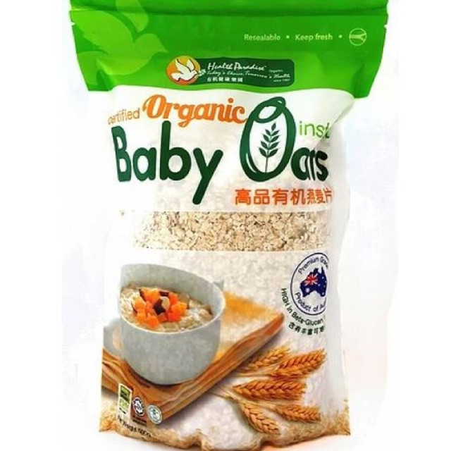 Health Paradise Organic Instant Baby Oat / Sereal Baby Oat | Shopee Indonesia