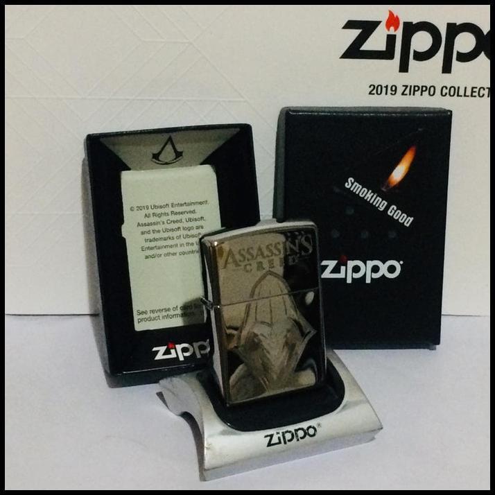 Original Zippo Assassin S Creed 29786 98cesko Shopee Indonesia