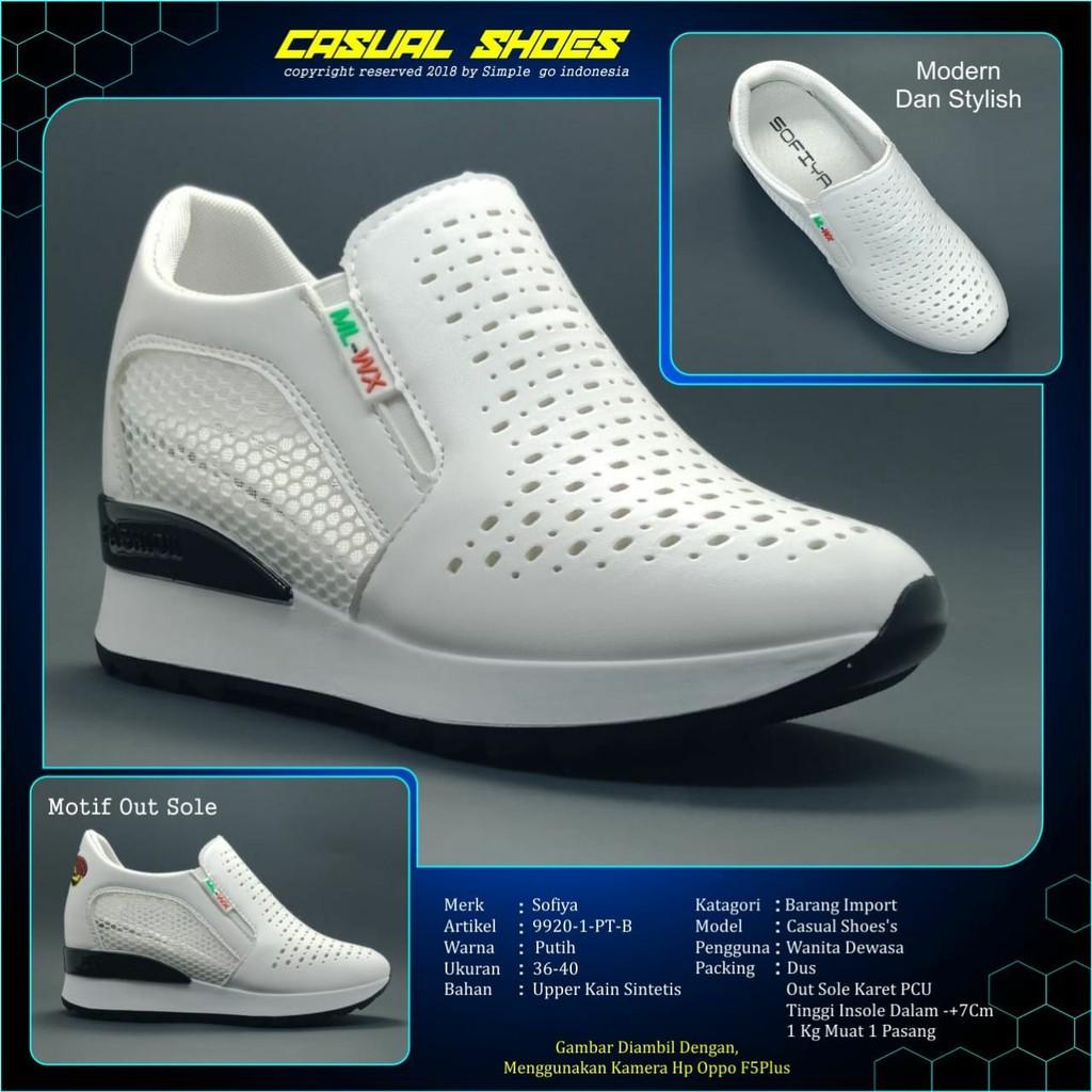 Sepatu Wanita Sofiya Kalep Model Jaring Motif 9920 1 36 40