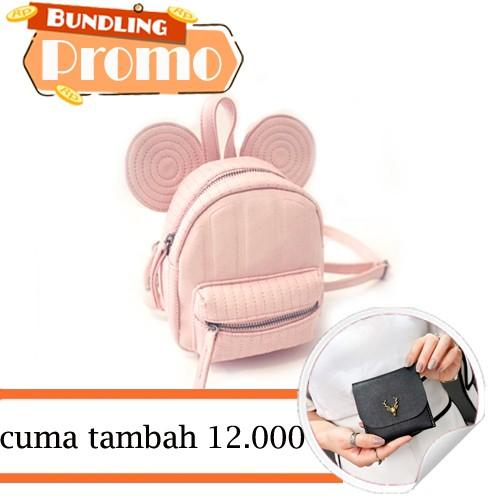 tas ransel old mini flower ladies small backpack (2i4) bta162   Shopee Indonesia
