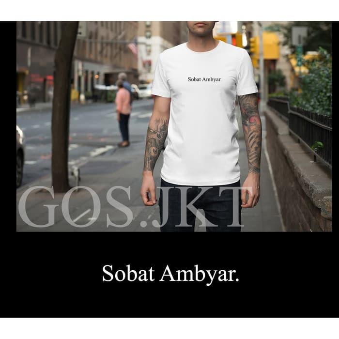 Oi21 Kaos Kata Kata Sobat Ambyar Didi Kempot Shopee Indonesia