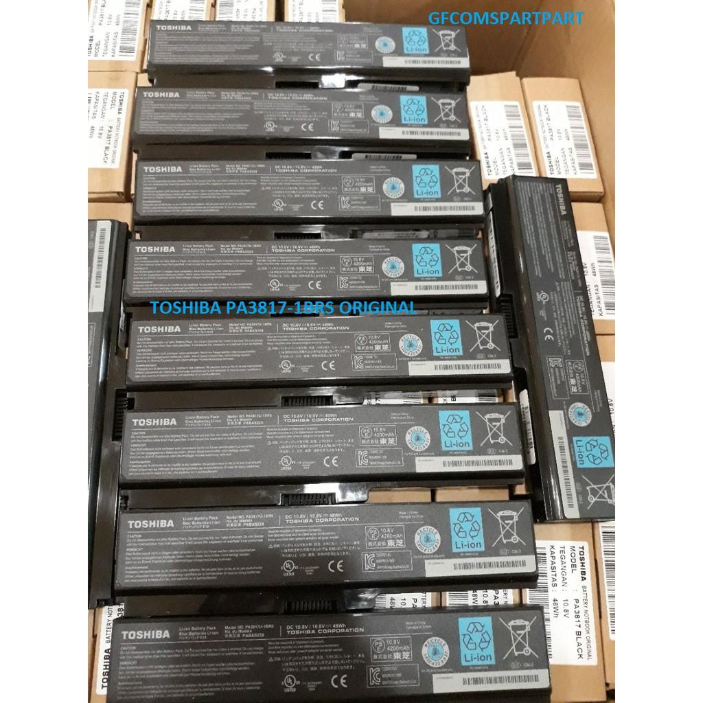 Baterai Laptop Original Toshiba Satellite C600 C640 C645 L645 L655 Batre L750 L740 L745 L775 3817 Pa3817 L735 L755 A665 Pa3634 Shopee Indonesia