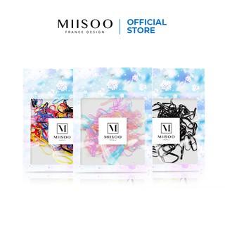 MIISOO Karet Rambut Japan isi 200pcs (Random) Qualitas TOP thumbnail