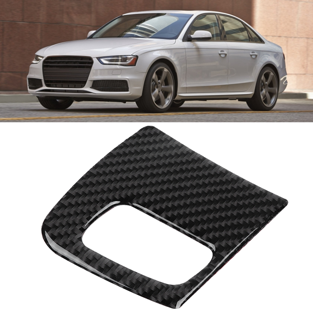 Fabric Gray Center Console Lid Armrest Cover Protector Fits 08-15 Audi A5