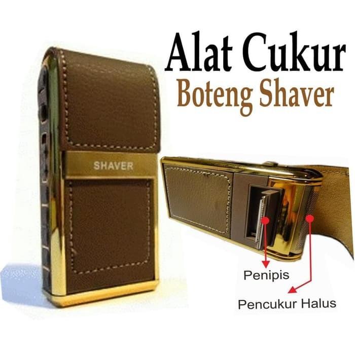 Alat Cukur Kumis Jenggot Boteng Shaver RSCW-V1 MESIN cukur rechargeable  premium  c18f8d7fbe