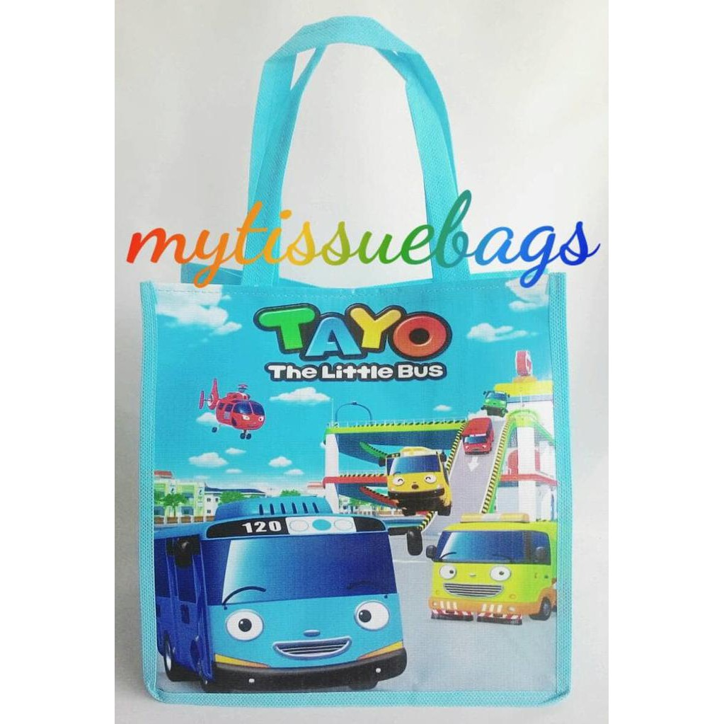 Souvenir Tas Ultah Tayo The Little Bus | Shopee Indonesia