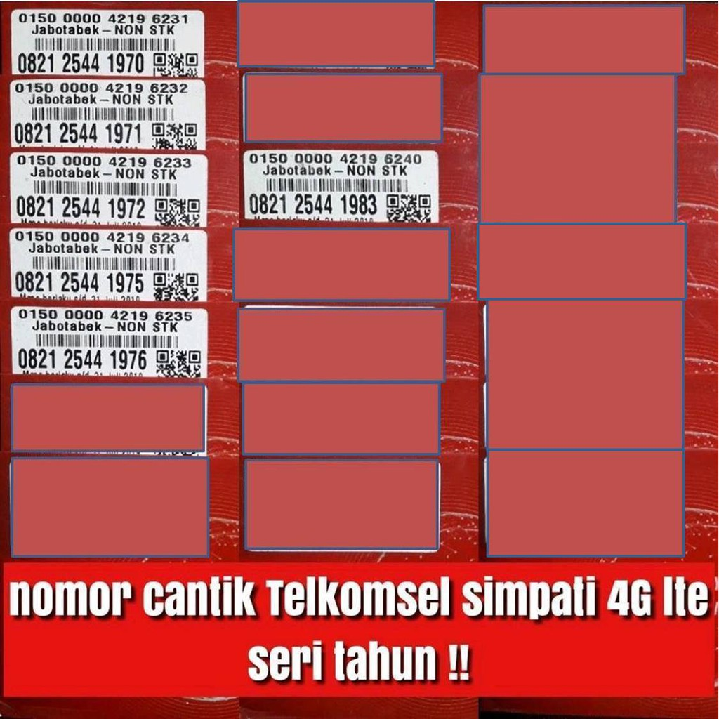 Kartu Perdana Tri Three Cinta 6 New Skema Kuota 50gb Cinta6 Data Aon 1gb Shopee Indonesia