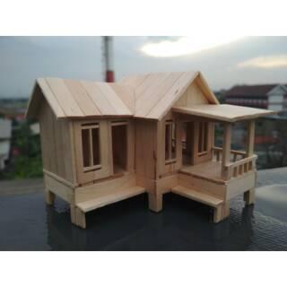 104 Gambar Rumah Panggung Dari Stik Es Krim HD Terbaru
