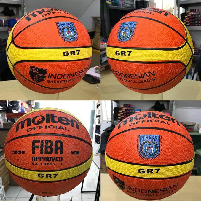 Ready stock bola basket outdoor❥ BOLA BASKET MOLTEN -BOLA BASKET MOLTEN PERBASI GR7
