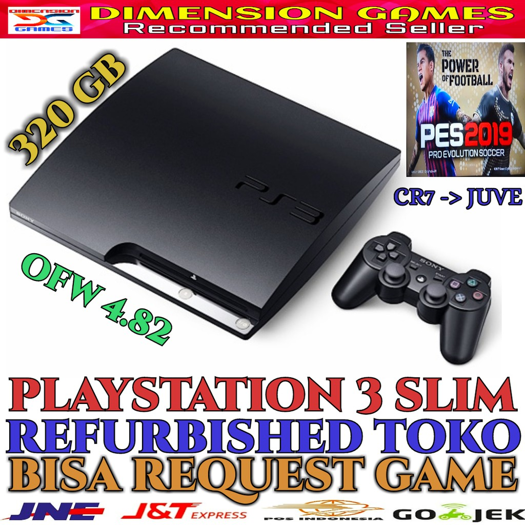 Sony Playstation 3 Ps3 Ps Fat Hdd 500 Gb Full Game 120gb Hdd500gb 2 Stick Controller Lengkap Shopee Indonesia