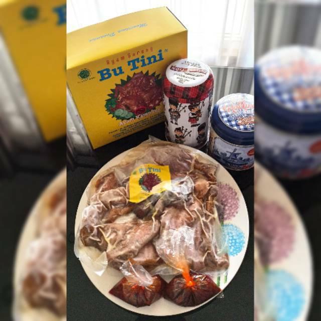 Ayam Goreng/Bacem Bu Tini Jogja - Bisa kirim via ekspedisi, vakum tanpa pengawet
