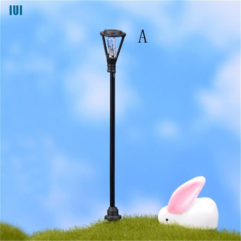 Cad 5pcs Model Miniatur Tiang Lampu Taman Untuk Layout Lansekap Taman Shopee Indonesia