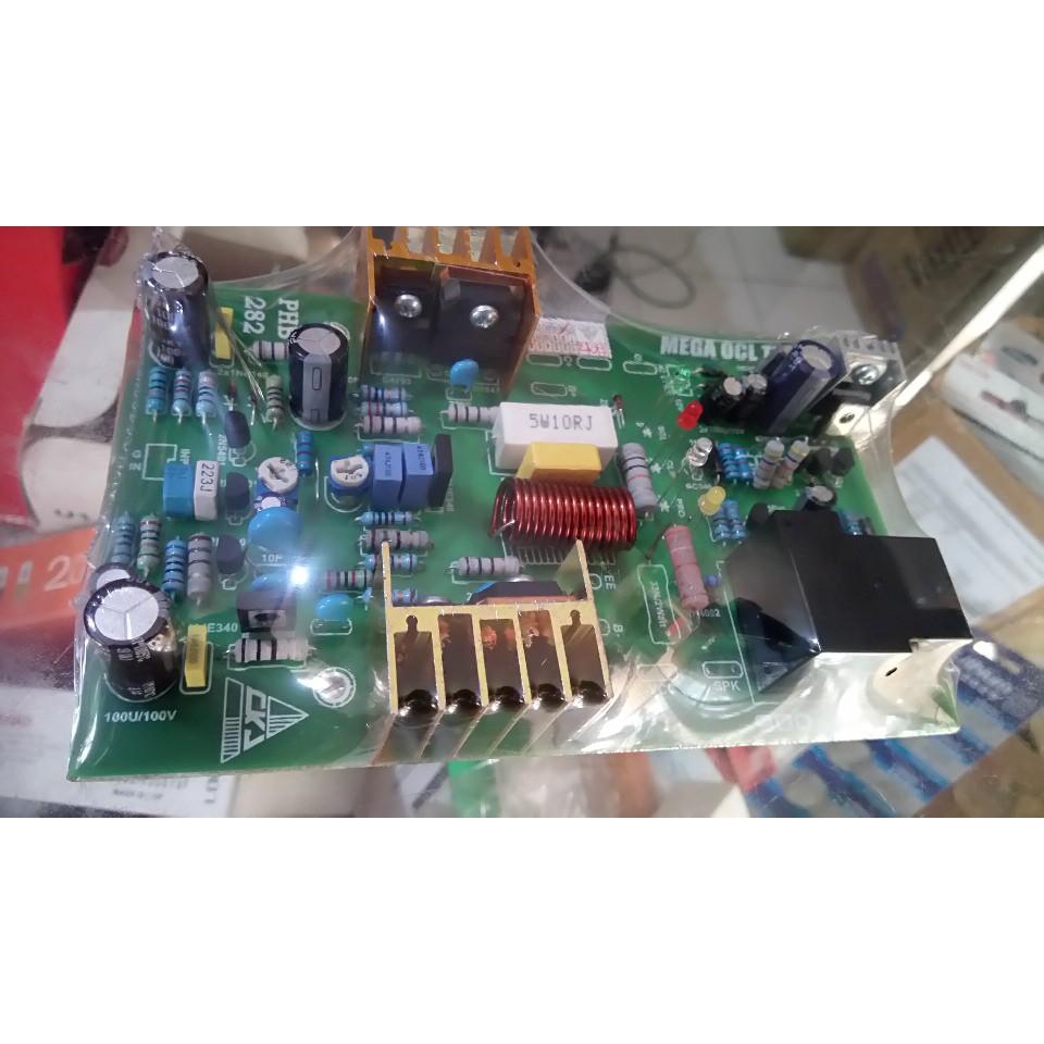 Pcb Power A10 Clone 8 Tr Final Shopee Indonesia Indonesias Legendary Diy Amplifier 150w Ocl