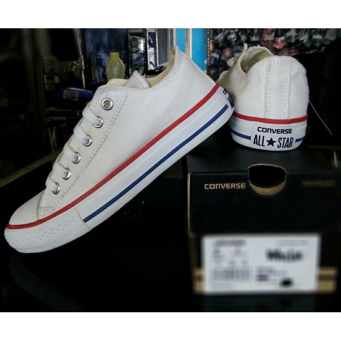 Grosir Sepatu converse all star Putih  1a8afdc09a