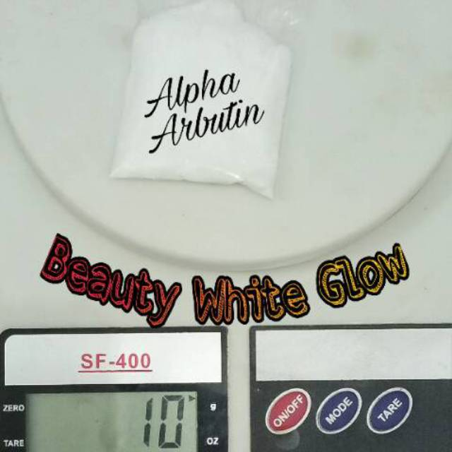 10gram ALPHA ARBUTIN POWDER MURNI 100%