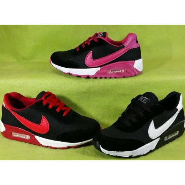 ⚡COD sepatu anak sekolah hitam tk sd unisex import size 31 - 36 ... 7dd856531e