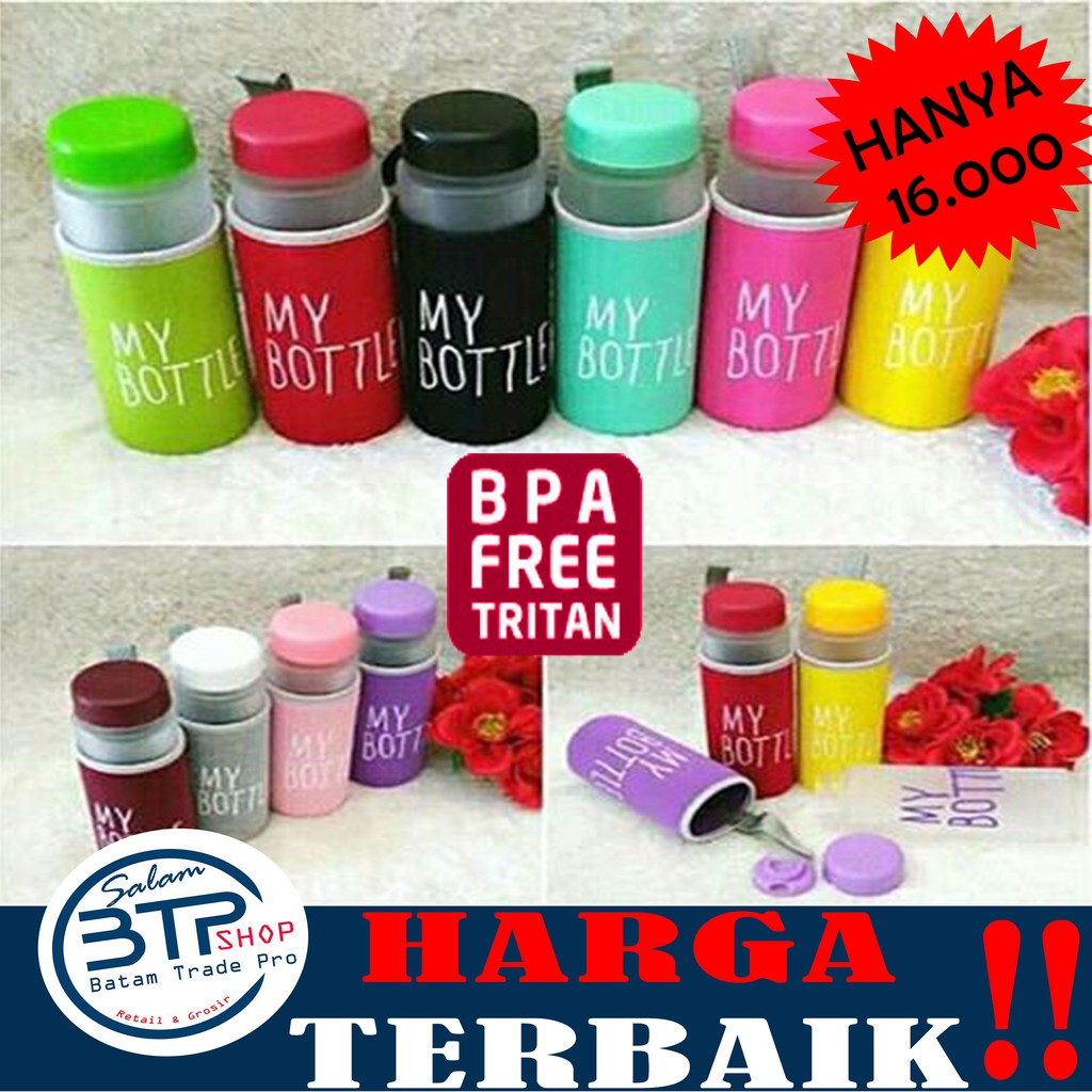 Btp New Mybottle Doff Free Pouch My Bottle 500ml