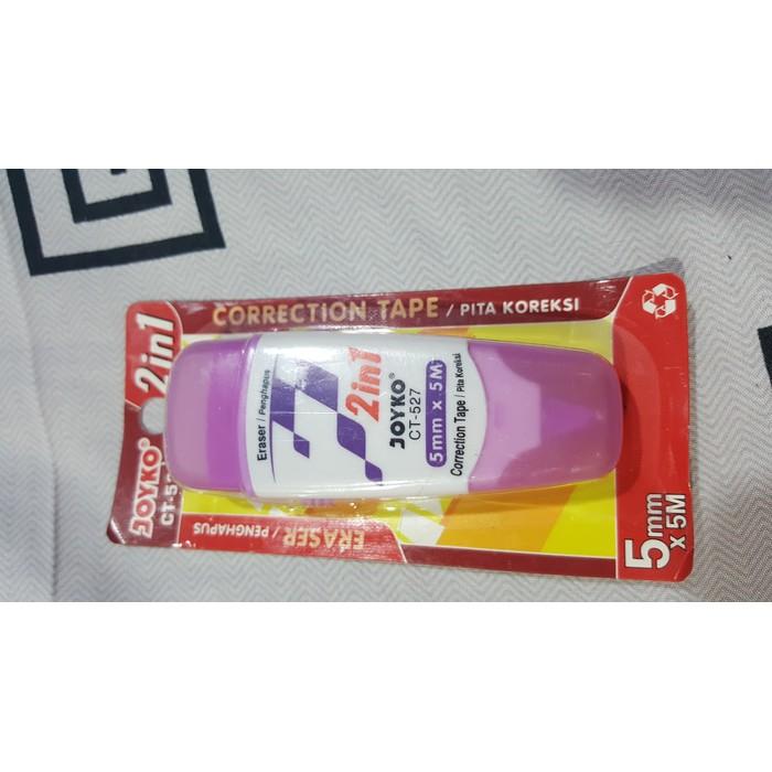 Correction Tape + Refill / Tip-Ex Kertas 8M X 5Mm Kenko Ct-309Nr