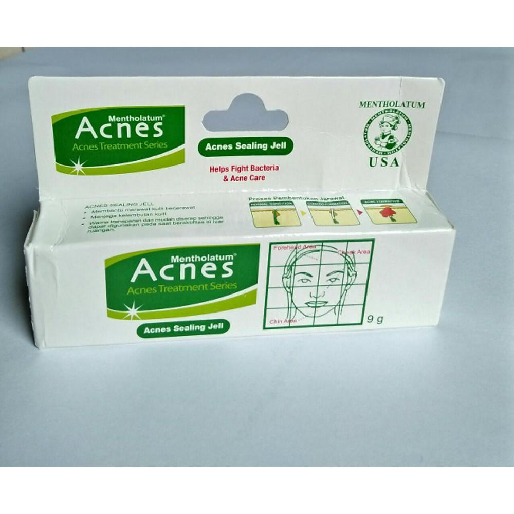 Acnes Sealing Jell 9gr Spot Care Obat Jerawat Treatment Series