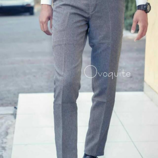 Now setelan jas dan celana formal slim fit poli wool hitam urban act - Hitam- S berkualitas | Shopee Indonesia