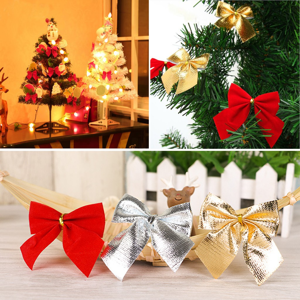 Christmas Tree Ribbon Bows Charms