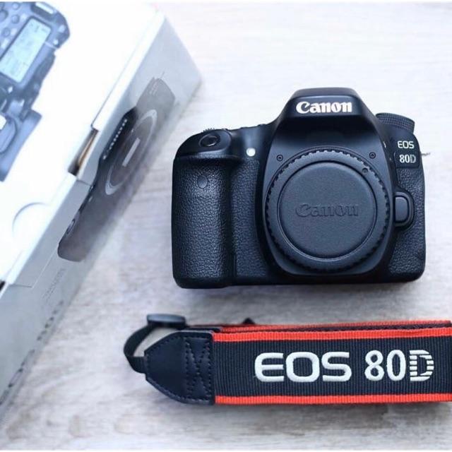 Canon 80d second